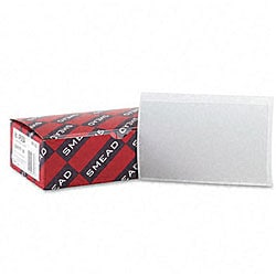 Smead Self-stick Vinyl Pockets for 3 x 5 Cards (Case of 100)