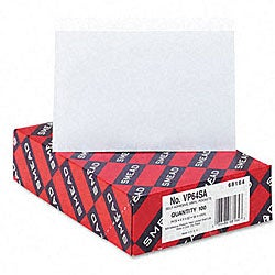 Smead Self-Stick Vinyl Pockets for 4 x 6 Cards (Case of 100)