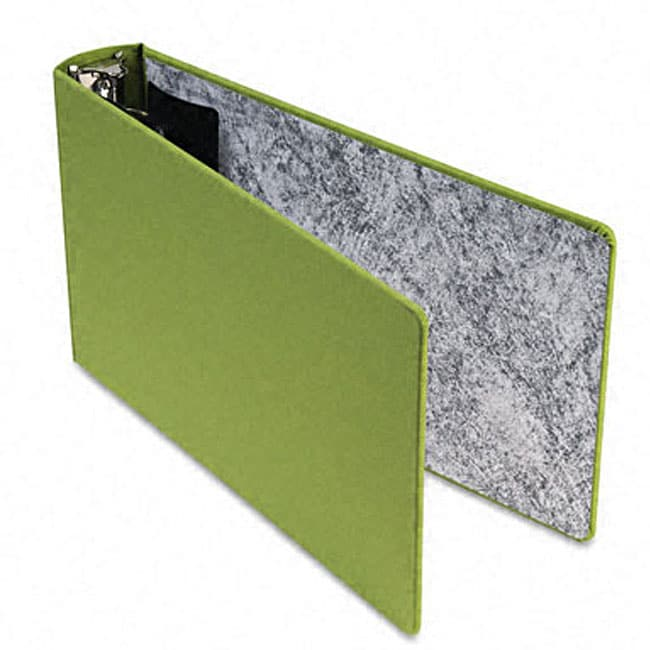 Green Canvas 2 Inch Legal 3 Ring Binder 11404584
