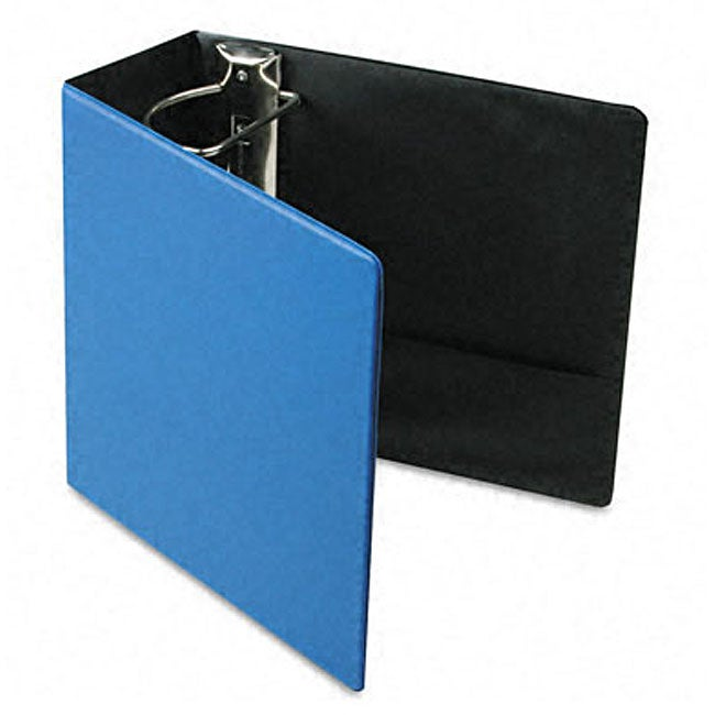Recycled Easy Open 5-Inch D-Ring Binder in Medium Blue Color