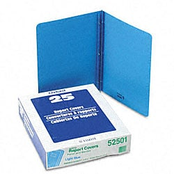 Blue Leatherette Front Report Covers (Pack of 25)
