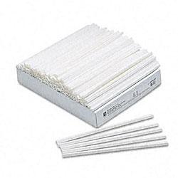 White Slide-n-Grip Binding Bars for Report Covers (100 per Box)