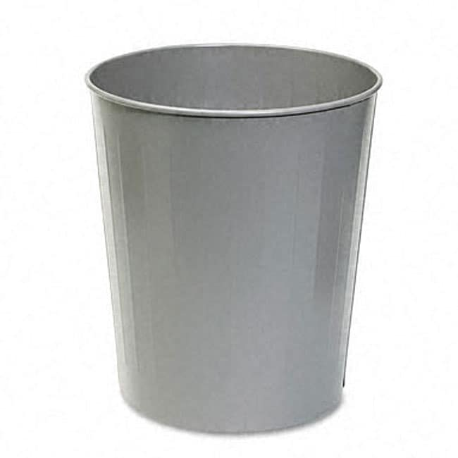 Charcoal 23.5-quart Fire-safe Round Steel Trash Can