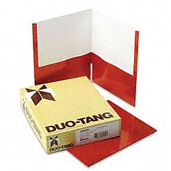 Metallic Two-Pocket Copper Folders (25 per Box)