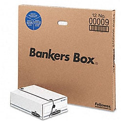 Fellowes Liberty Recycled Check-Size Storage Boxes (Pack of 12)