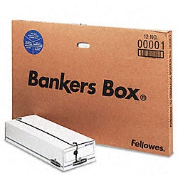 Fellowes Liberty Check/Microfilm Size Storage Boxes (Pack of 12)