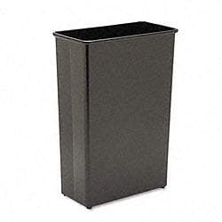Rectangular Fire-Safe Steel Wastebasket - 22 Gallon