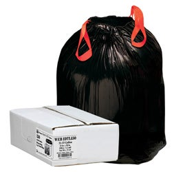 Webster Drawstring 33-gallon Trash Can Liners (Box of 150)