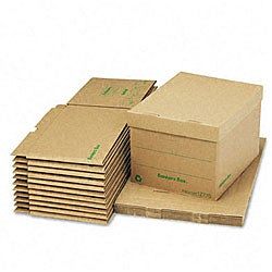 Fellowes Recycled Stor/File Fast Fold Storage Boxes (Pack of 12)