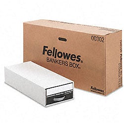 Fellowes Steel Plus Check Size File Drawers (Pack of 12)