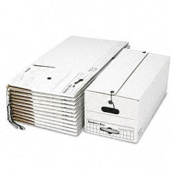 Fellowes Stor/File Cardboard Letter Storage Boxes (Pack of 12)