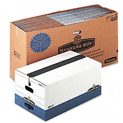 Fellowes Liberty Plus Legal Storage Boxes (Pack of 12)