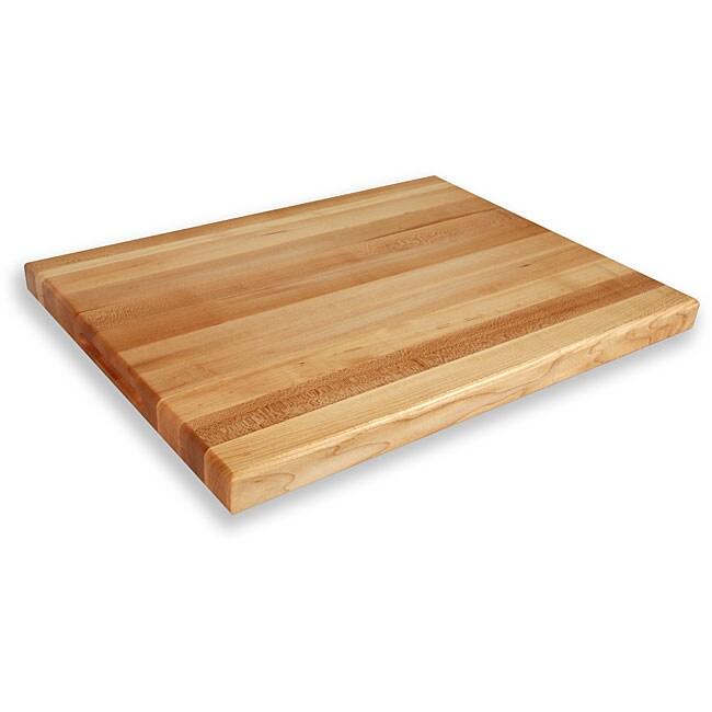 Maple Edge Grain 24x18-Inch Solid Northern Michigan Hard Maple Cutting Board