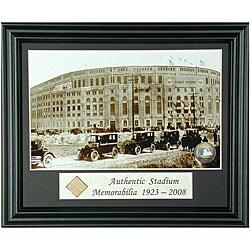 Opening Day 1923 Yankee Stadium Framed Memorabilia