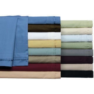 Luxor Treasures Egyptian Cotton 650 Thread Count Deep Pocket Solid Sheet Set (As Is Item)