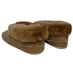 Amerileather Double Faced Shearling Low-top Slippers