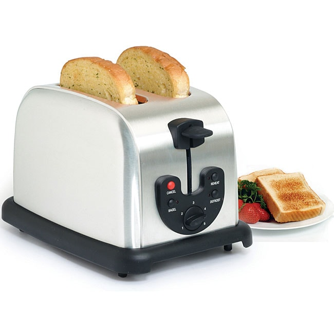 Stainless Steel Classic 2-slice Electric Toaster