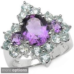 Malaika Sterling Silver Gemstone Ring