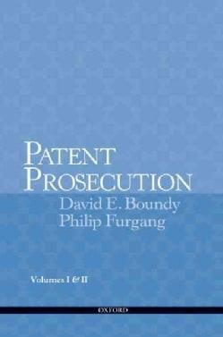 Patent Prosecution (Paperback)