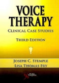 Voice Therapy: Clinical Case Studies (Paperback)