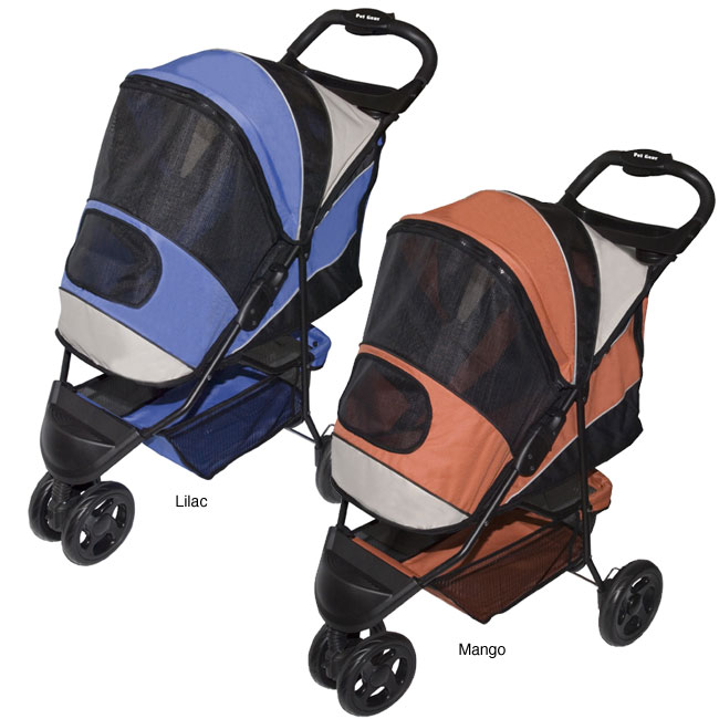 PetGear Sportster Stylish Convenient Pet Stroller (Up to 45 pounds)