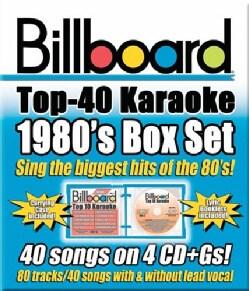 Sybersound - Billboard 1980's Top 40 Karaoke Box Set