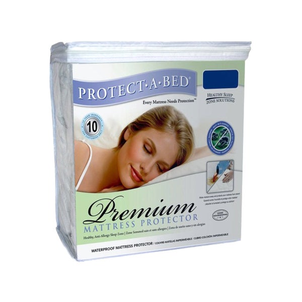 Protect-A-Bed Premium Twin XXL Waterproof Mattress Protector