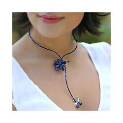 Lapis Lazuli 'Song of Summer' Choker (Thailand)