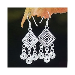 'Geometry Lesson' Earrings (Thailand)