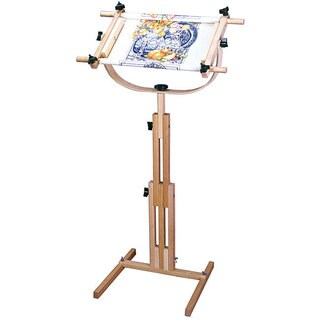 Adjustable Floor Standing Scroll Frame