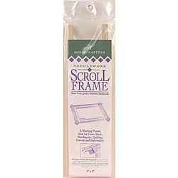 Deluxe Hardwood Scroll Frame