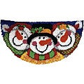 Wonderart Merry Men Latch Hook Rug Kit