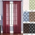 Aretha Diamond Rod Pocket 84-inch Curtain Panel