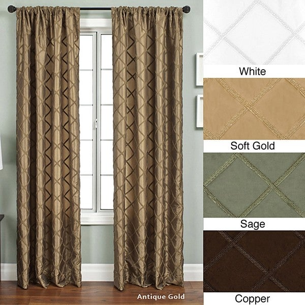 Ashford Rod Pocket 96-inch Curtain Panel