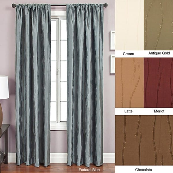 bon rod pocket 96 inch curtain panel 11415068