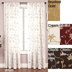 Cairo Rod Pocket 108-inch Curtain Panel