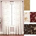 Cairo Rod Pocket 120-inch Curtain Panel