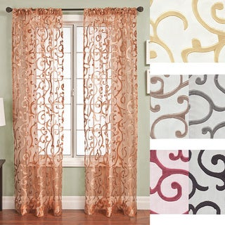 Chiante Rod Pocket Curtain Panel 96 inch
