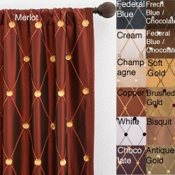 Helena Rod Pocket 84-inch Curtain Panel