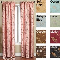 Jakarta Rod Pocket 108-inch Curtain Panel