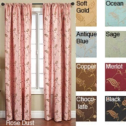 Jakarta Rod Pocket 96-inch Curtain Panel
