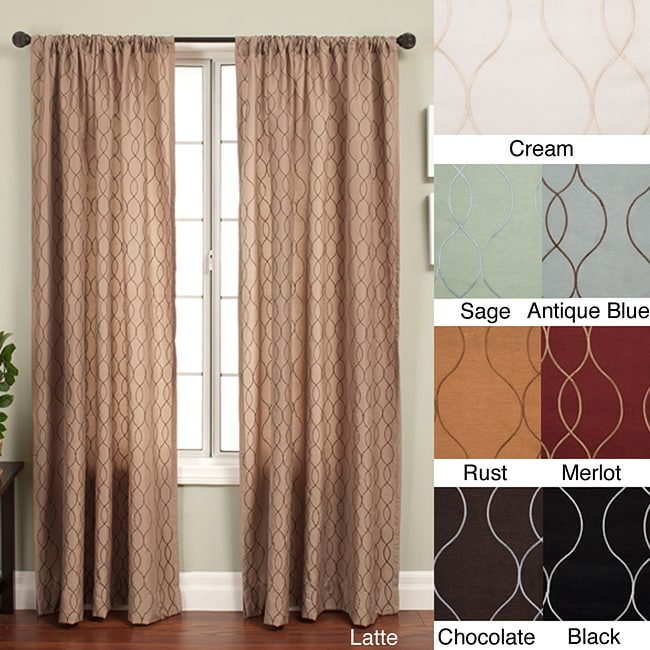 Overstock.com Keeva Rod Pocket 84-inch Curtain Panel
