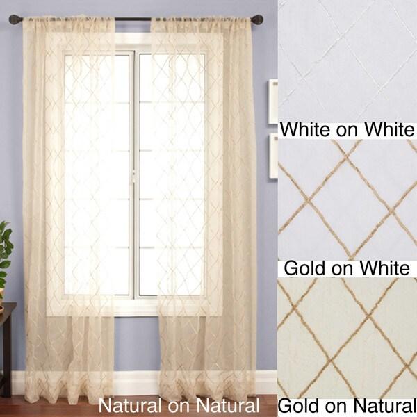 Serafino Rod Pocket 120-inch Panel