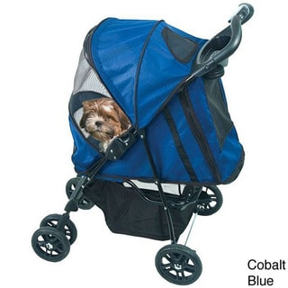 PetGear Happy Trails Stylish Convenient Stroller (Up to 30 pounds)