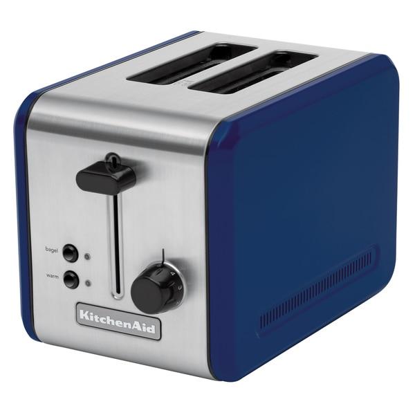 Kitchenaid Kmtt200bw Blue Willow Stainless Steel Two Slot