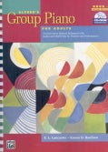 Alfred's Group Piano for Adults Student Book 1: An Innovative Method Enhanced With Audio and MIDI Files for Practice and Perf...