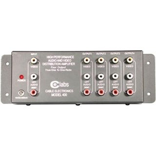 C2G 4-Output RCA Audio/Video Distribution Amplifier
