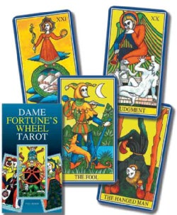 Dame Fortune's Wheel Tarot / Tarot De la rueda de la senora fortuna (Cards)