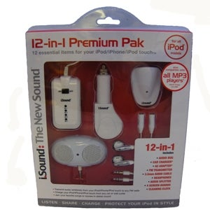 DreamGear DGIPOD-632 White 12-in-1 iPod Premium Accessory Pack