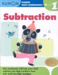 Kumon Math Subtraction: Grade 1 (Paperback)